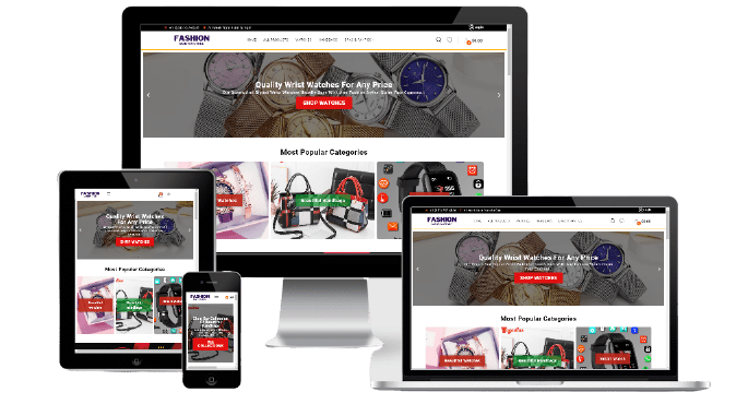 Turnkey Dropship Website