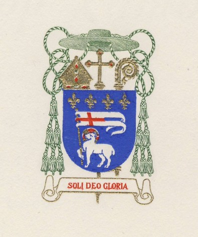 Bishop Hugh Lamb insignia