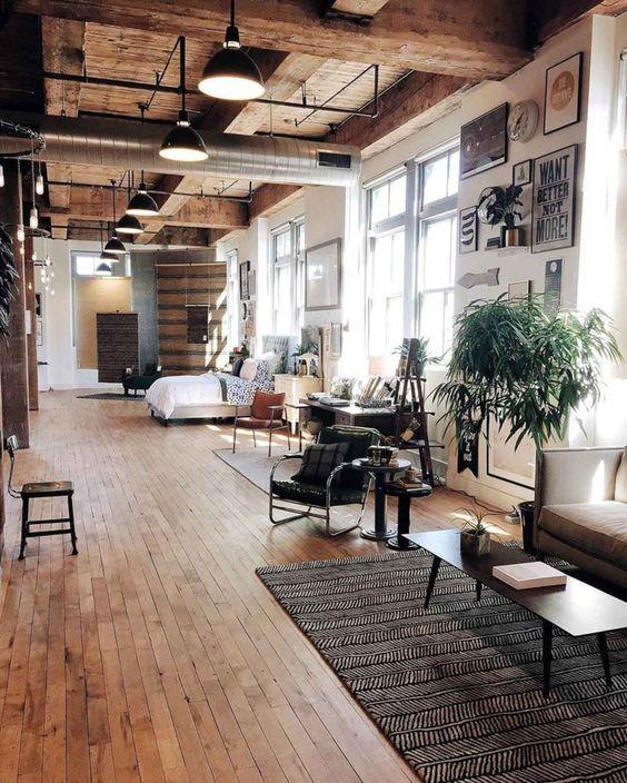 Deze 6 woonstijlen zijn perfect voor een houten vloer