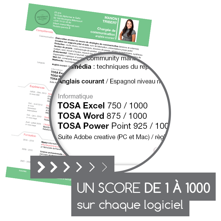 la certification tosa digital