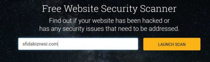 GravityScan Siguria e faqes online