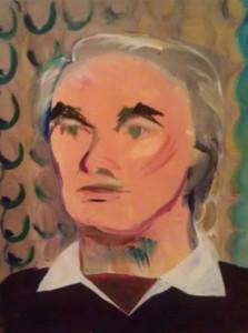 Portrait of Uncle Glen -- Thanksgiving, 1983