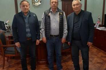 Председатель Правления «Ассоциация фермеров Казахстана» Жигули Дайрабаев посетил известную компанию «Агрофирма Родина»