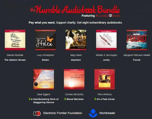 Humble Audiobook Bundle