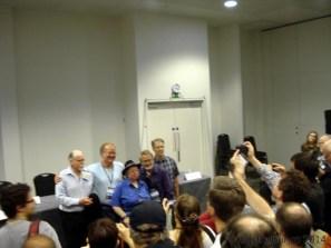 Worldcon 2014 - Conferinte 01 - Robert Silverberg, Johnatan Strathan, Jo Walton, Gary Wolfe, Kim Stanley Robinson