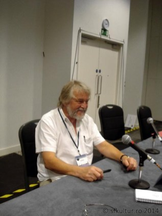 Worldcon 2014 - Conferinte 03 - Jim Burns