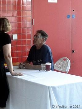 Worldcon 2014 - Sesiuni autografe Kim Stanley Robinson