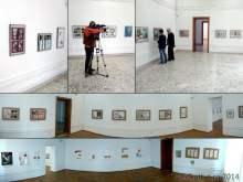 Cele trei sali de expunere