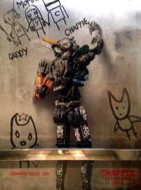 Chappie movie poster 1