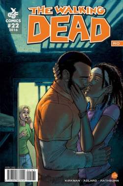 The Walking Dead RO 22 cover1