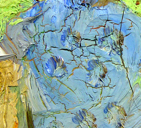 How to Make the Surface of an Oil Painting Crack | Our ...