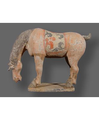Oriental Terracotta Horse Before Treatment