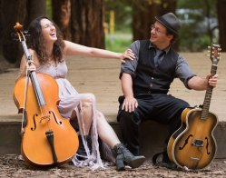 THE DIRTY CELLO DUO, CLAUDIA RUSSELL & BRUCE KAPLAN DUO, and the MEREDITH AXELROD DUO