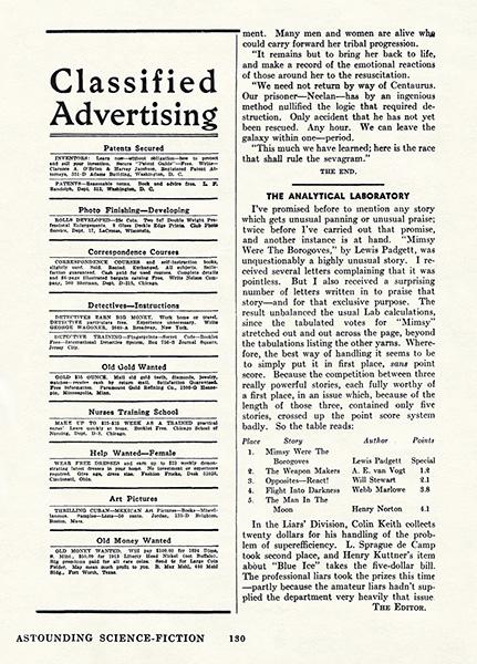 Astounding ScienceFiction v30n06 February 1943  SF