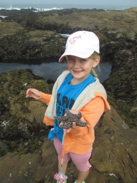 Great find at the tide pools!