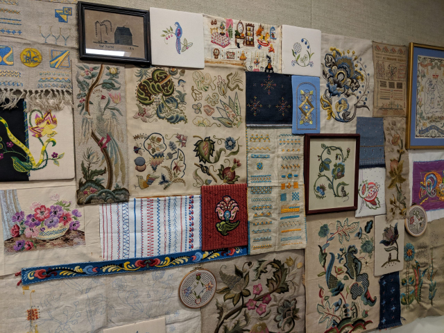 2018 - Collection Display for CSP Surface Embroidery