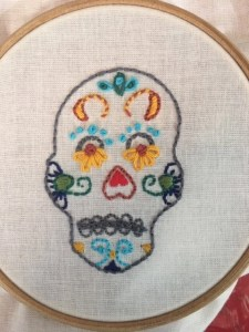 Bite-Size Embroidery for Beginners, by Carrie Miller, CA.