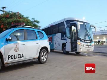 ônibus roubado