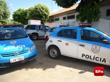 Carro da Polícia Militar foto Vinnicius Cremonez 2