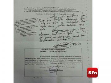 MP pedido de afastamento prefeito