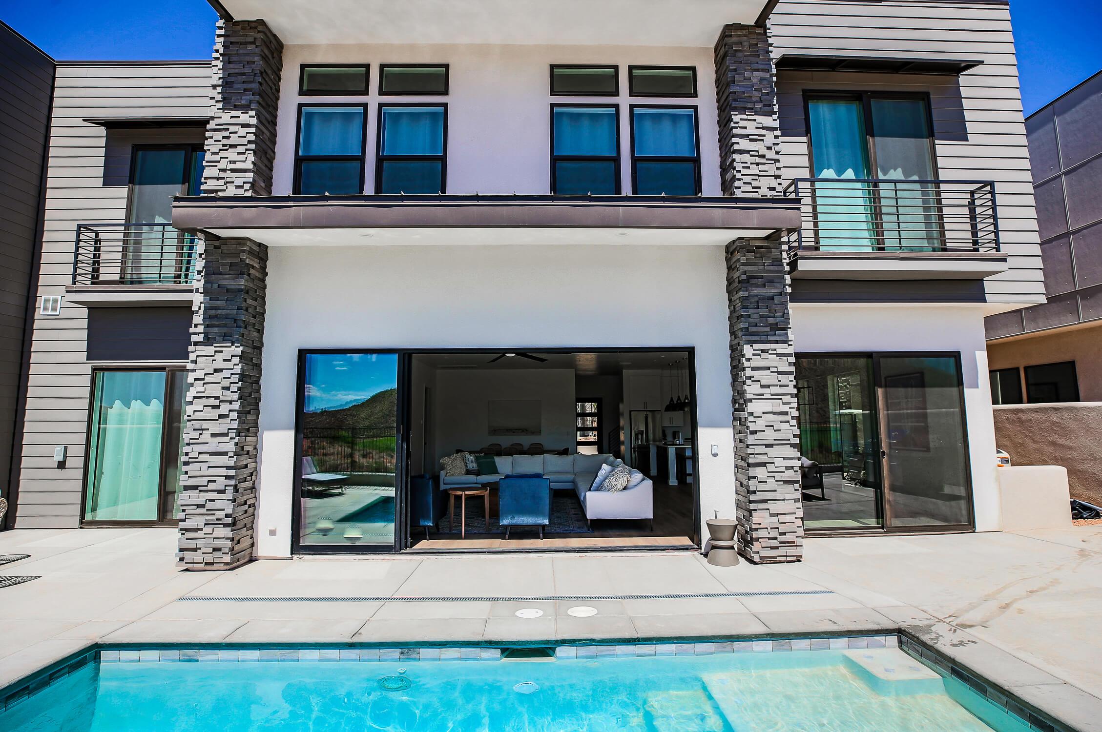 private pool southern utah