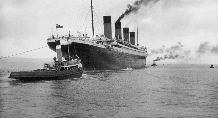 Resultado de imagen para El Titanic se da al agua