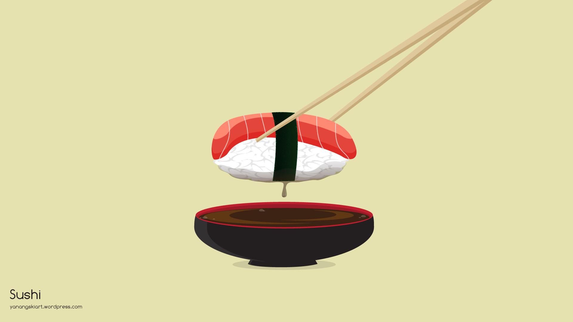 Cute Pug Wallpapers For Iphone Kawaii Sushi Wallpaper 62 Immagini