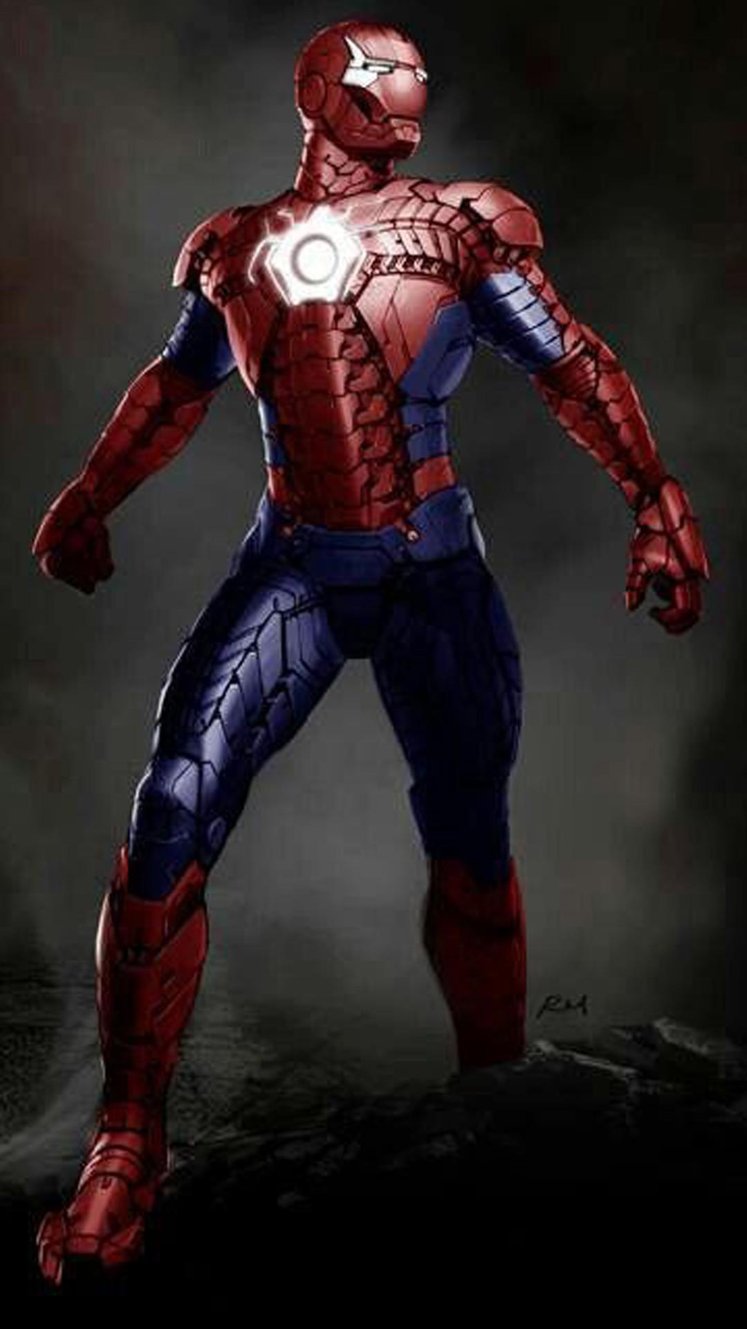 Animated Spider Wallpaper Sfondi Iron Man 84 Immagini