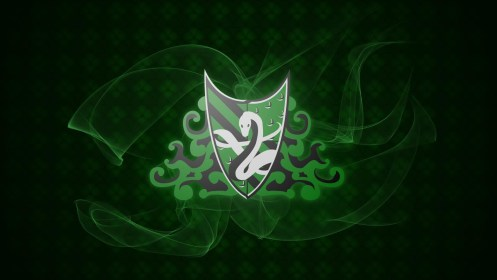 slytherin wallpapers hd crest background traits wallpaperplay quads