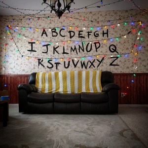stranger things halloween decor party door living decoration lights imgur garage wall christmas theme bedroom diy decorations rooms decorating aesthetic