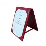 Tischaufsteller für zwei A6-Seiten