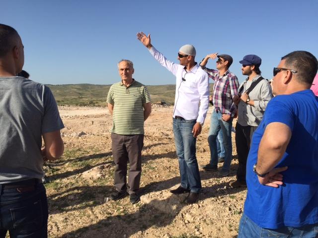 Environmental Justice course participants Visit Umm al-Hiran