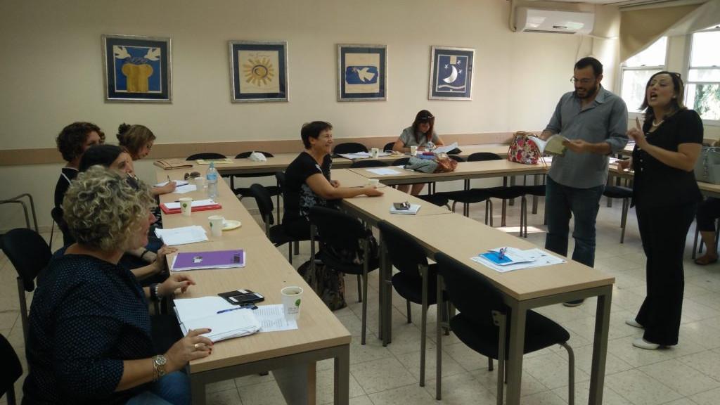Literature teachers meeting