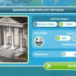 Bauvoraussetzungen Rathaus