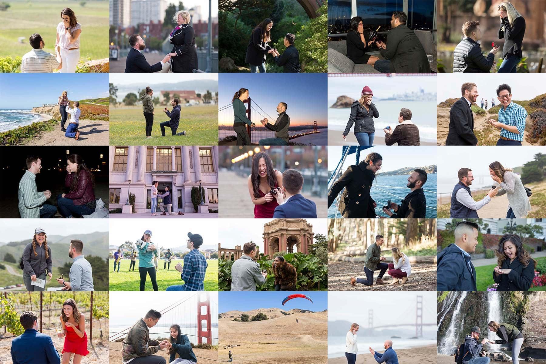best san francisco proposal photographer
