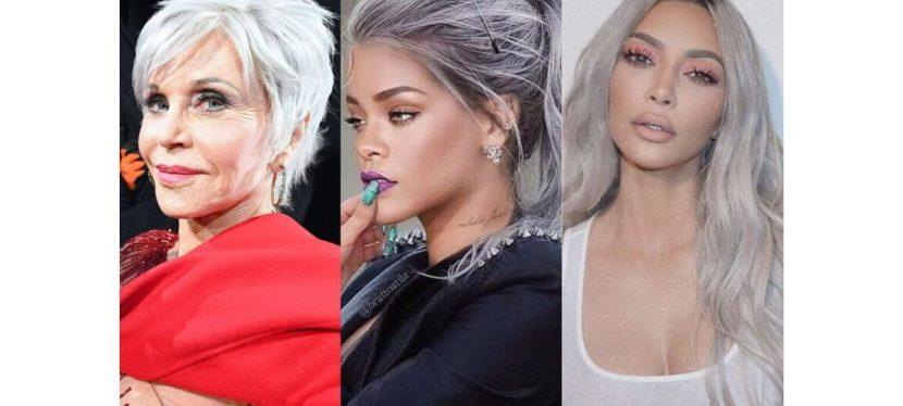 """Capelli grigi: è il momento del """"titanium silver"""", la tendenza colore del 2021"""