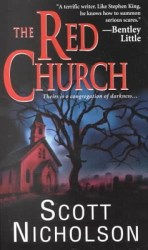 the-red-church-by-scott-nicholson cover