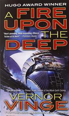 A Fire Upon the Deep, by Vernor Vinge