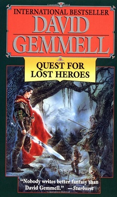 Quest for Lost Heroes, by David Gemmell