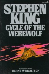 Cycle of the Werewolf, by Stephen King book cover
