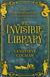 The Invisible Library, by Genevieve Cogman book cover