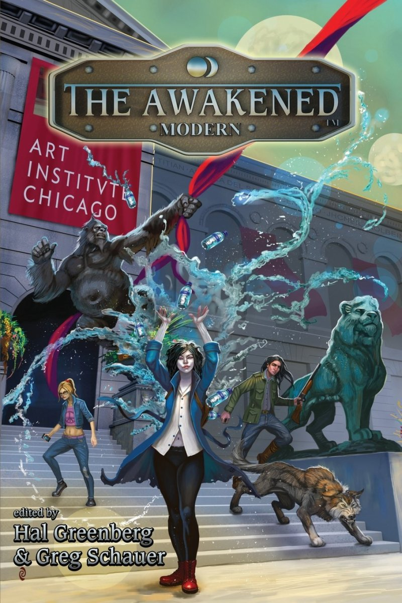 The Awakened Modern, edited by Hal Greenberg and Greg Schauer