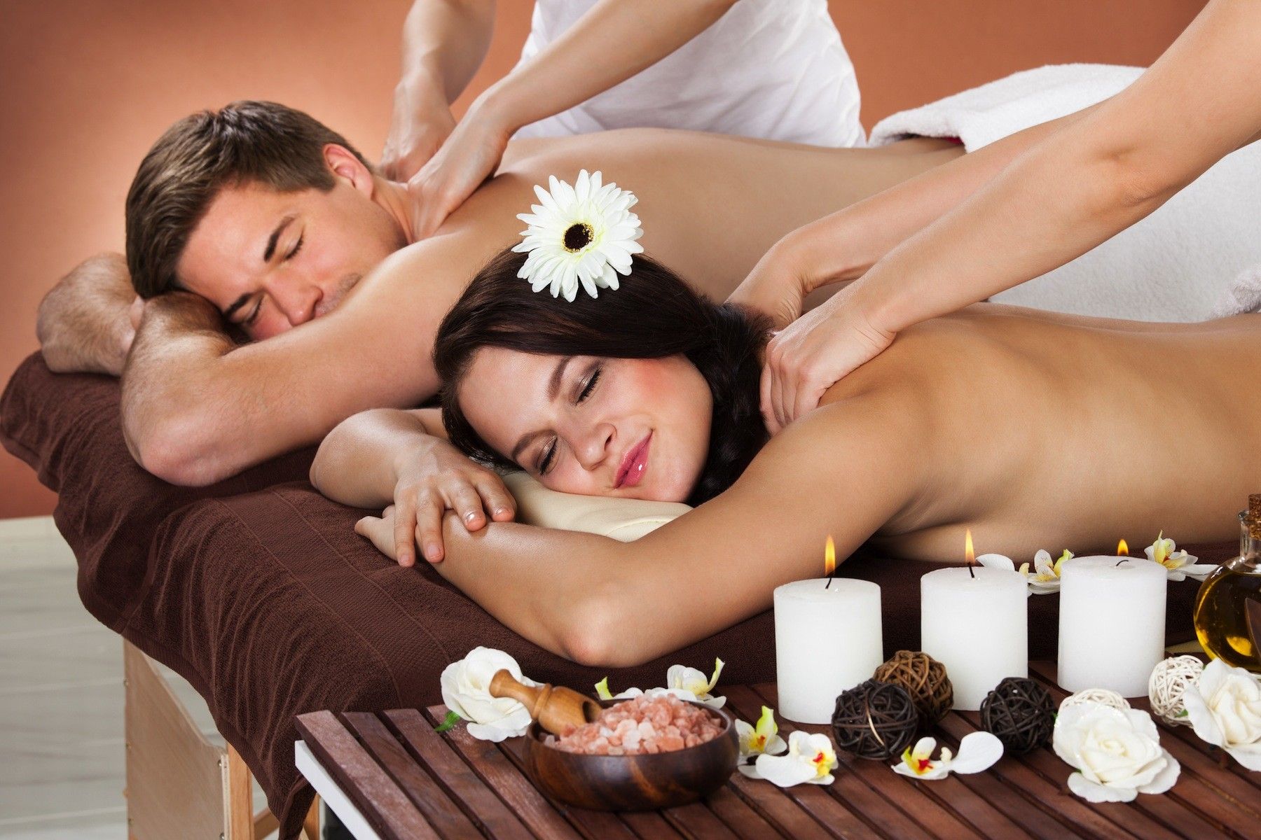Couples massage package