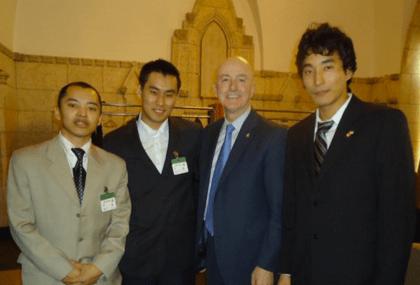 MP David Sweet with SFT Lobby Day