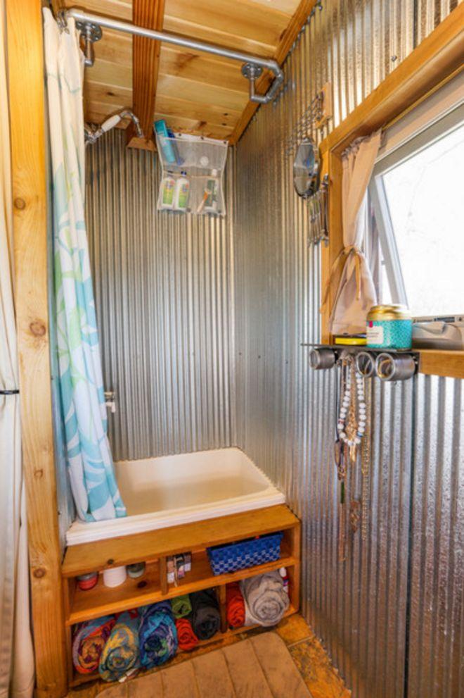 tiny house real bathroom