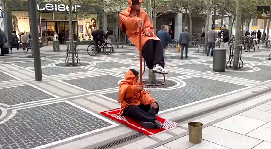 Secret Levitation Revealed Ladder