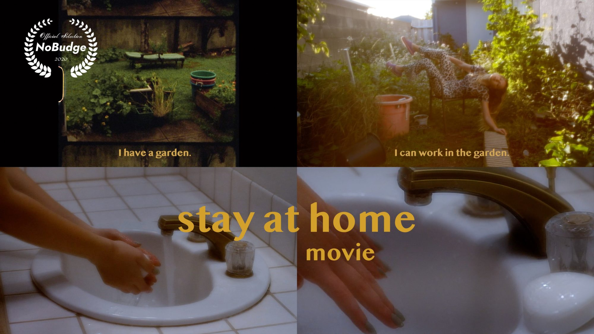SAHm poster small scaled - Screenwriting student's short film, STAY AT HOME movie, premieres on NoBudge