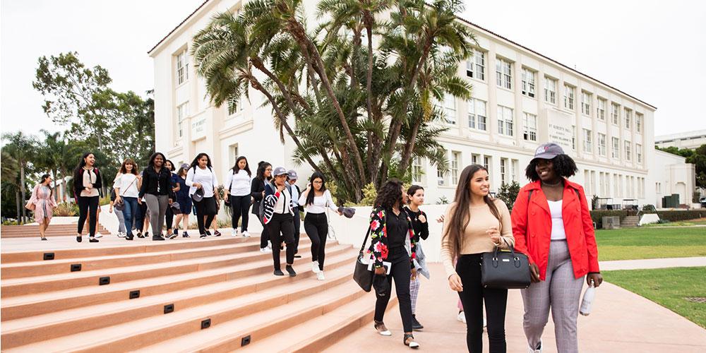 Students visit LMU