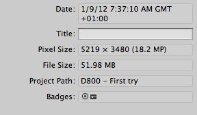 d800 file size