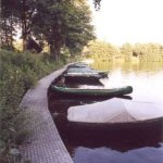 Lanzer See Bootsteg